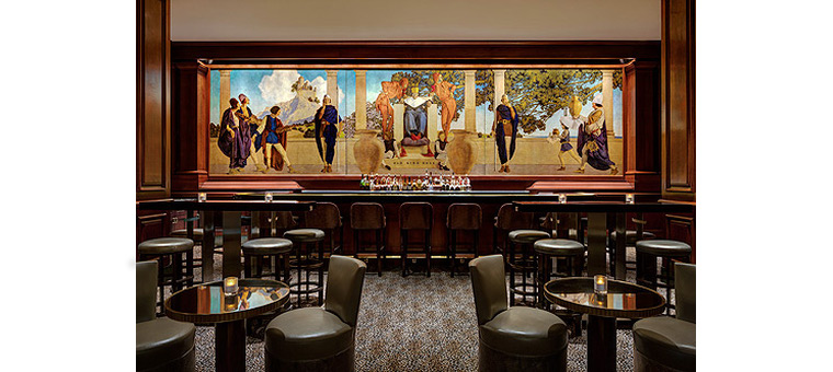 St. Regis - The King Cole Bar