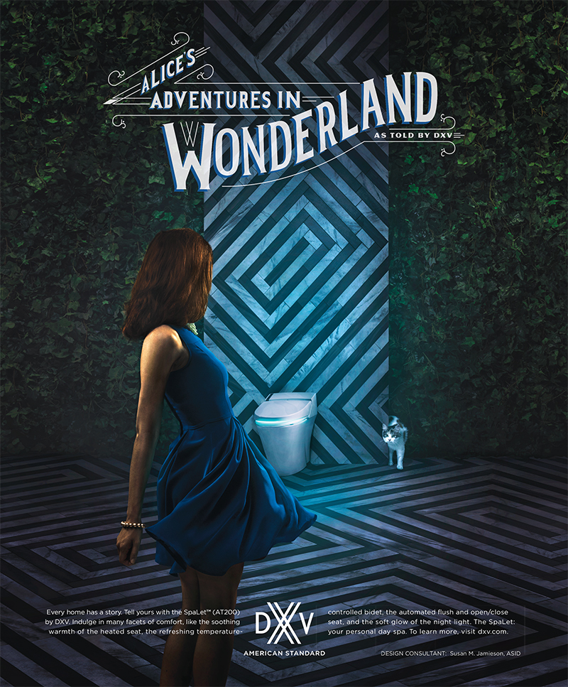 Dxv Ad Alice S Adventures In Wonderland As Told By Dxv