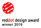 Red Dot Design Award Winner 2019
