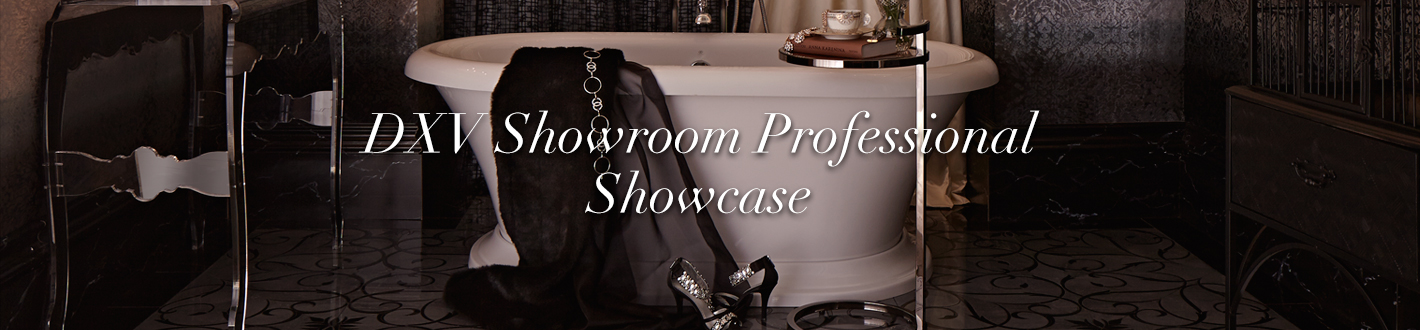 DXV Showroom Professional Showcase Banner