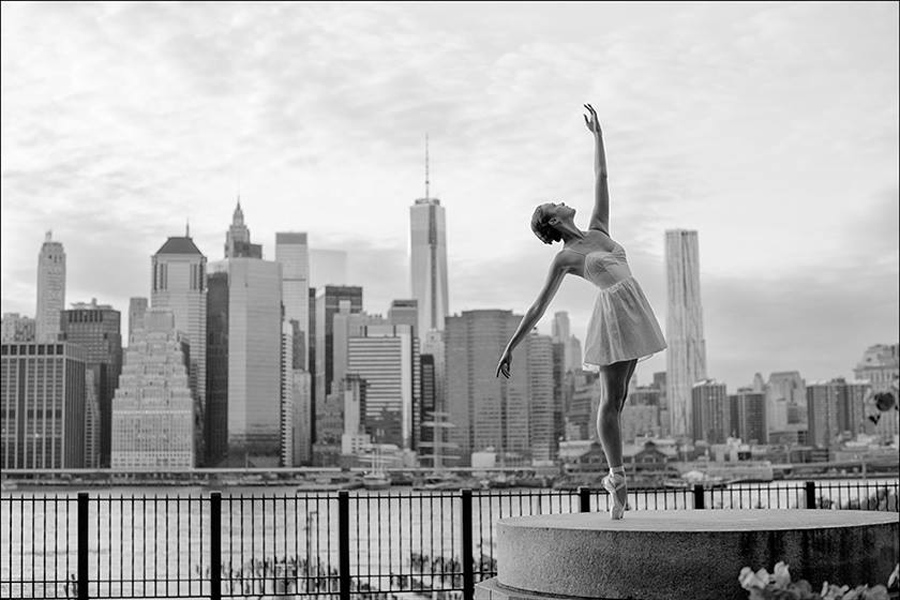 Ballerina Project, Stephanie, Brooklyn Heights Promenade, Dane Shitagi