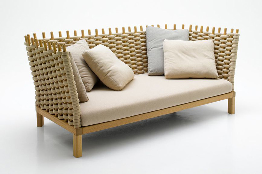 Paola Lenti outdoor sofa.