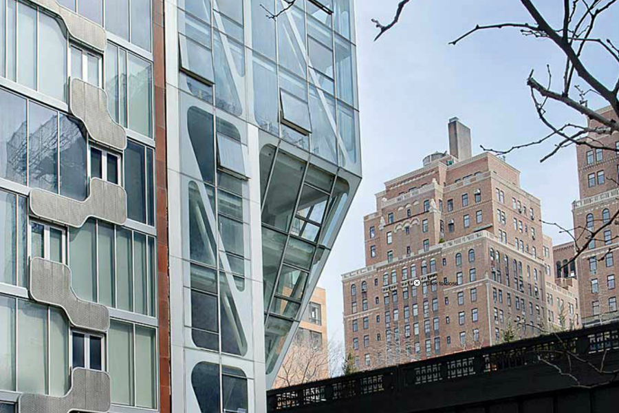 the highline building by Denari Architects