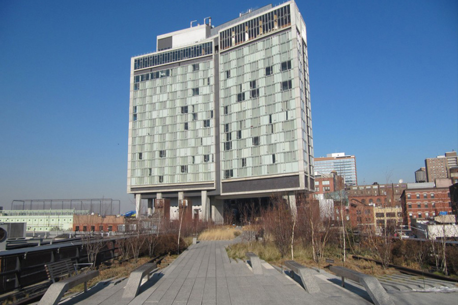 The Standard Hotel on the Highline
