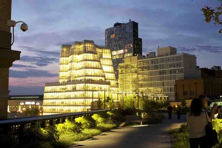 The IAC Building by Frank Gehry