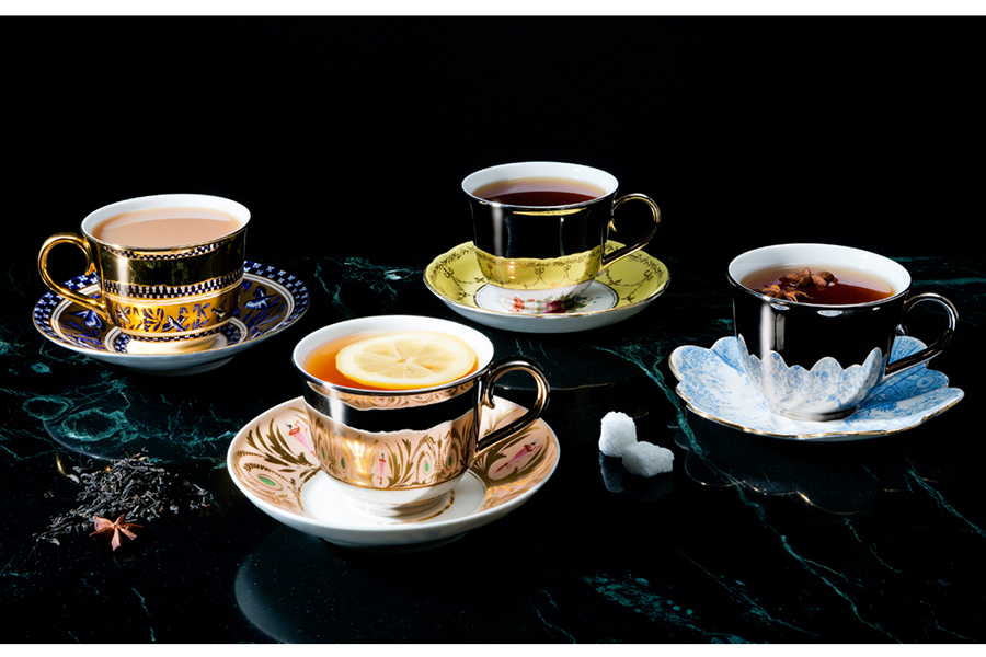 The Reflect Collection: Teacups andSsaucers by Richard Brendon