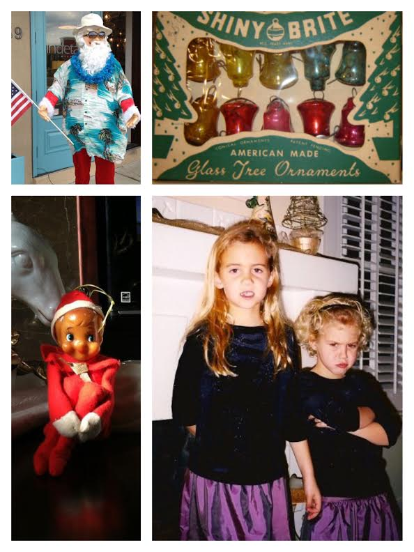 cheryl holiday decor collage