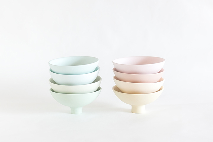 Beautiful bowls by Misa Kumabuchi