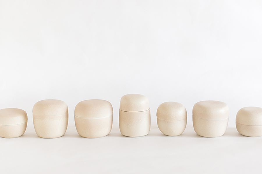 Selection of Pots by Misa Kumabuchi.