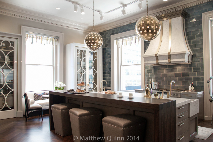 Matthew Quinn Kitchen at the 2014 Kips Bay Decorator Showhouse