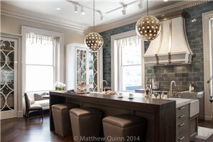 Matthew Quinn: The Quatrefoil Inspired Kitchen at Kips Bay
