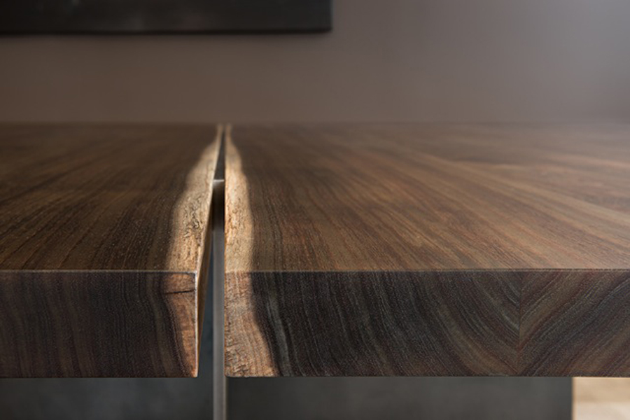 Split level table, acacia. Image by Steven Poe.