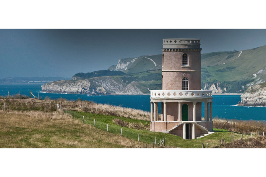 Clavell Tower, Dorset, by Reverend John Richards Clavell in 1830