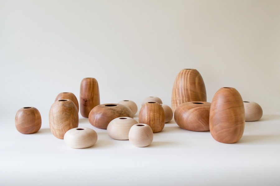 Wood Vessels by Silvia Song