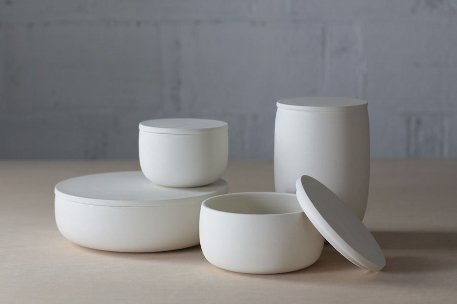 Lilith Rockett Ceramic Containers with Lids