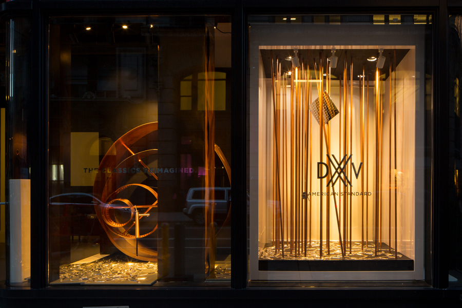 DXV NYC Showroom Window by VOA Architecture