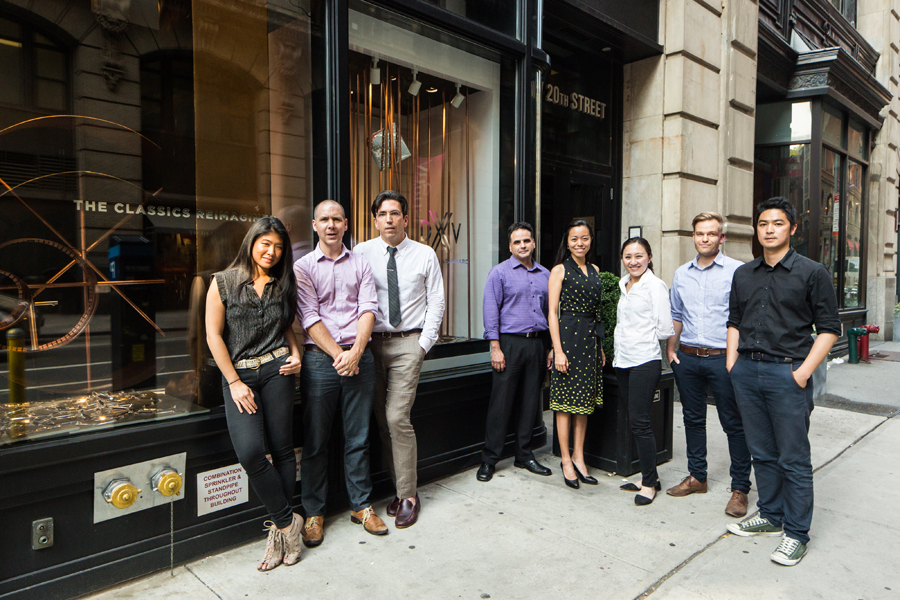 DXV NYC Showroom Window by VOA Architecture - VOA Team