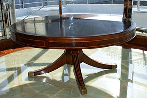 The Capstan Table by DB Fletcher- Art Meets Technology