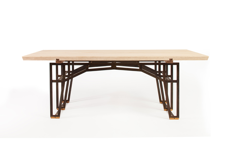 Ashlar Table, Forest Dickey of Varian Designs