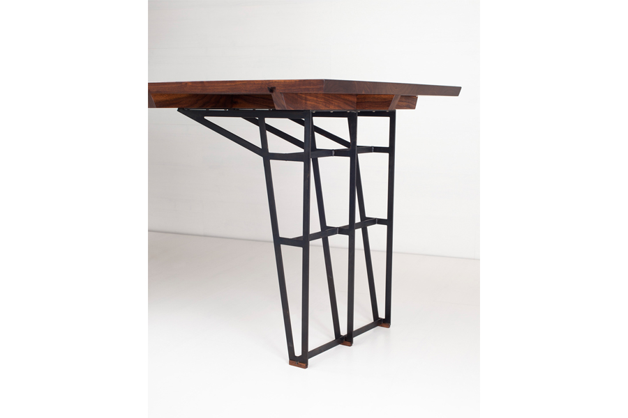 Bartizan Desk, Forest Dickey of Varian Designs