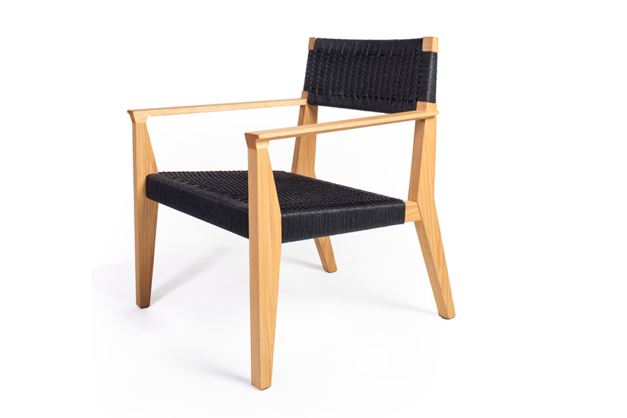 Freyr Lounge Chair, Forest Dickey of Varian Designs