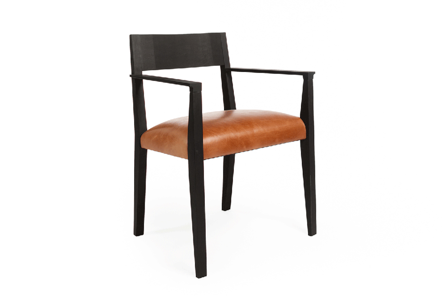 Freyr Chair Black Walnut, Forest Dickey of Varian Designs