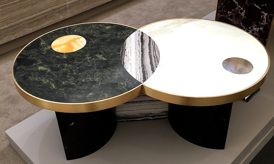 Lapicida's Sun and Moon coffee table