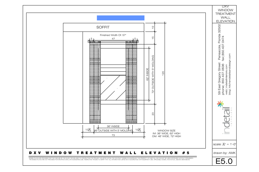 Window Wall Elevation