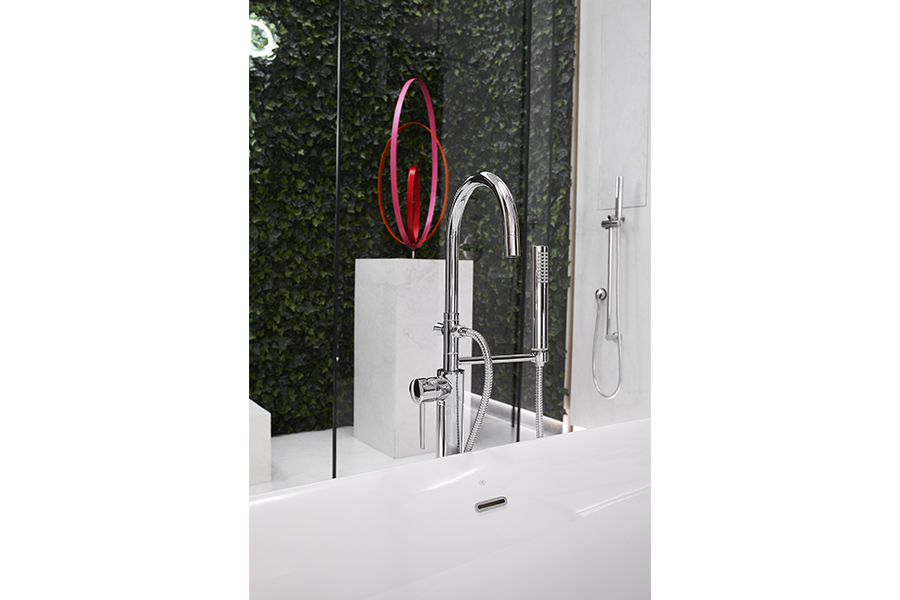 DXV Contemporary Floor Mount Bathtub Faucet