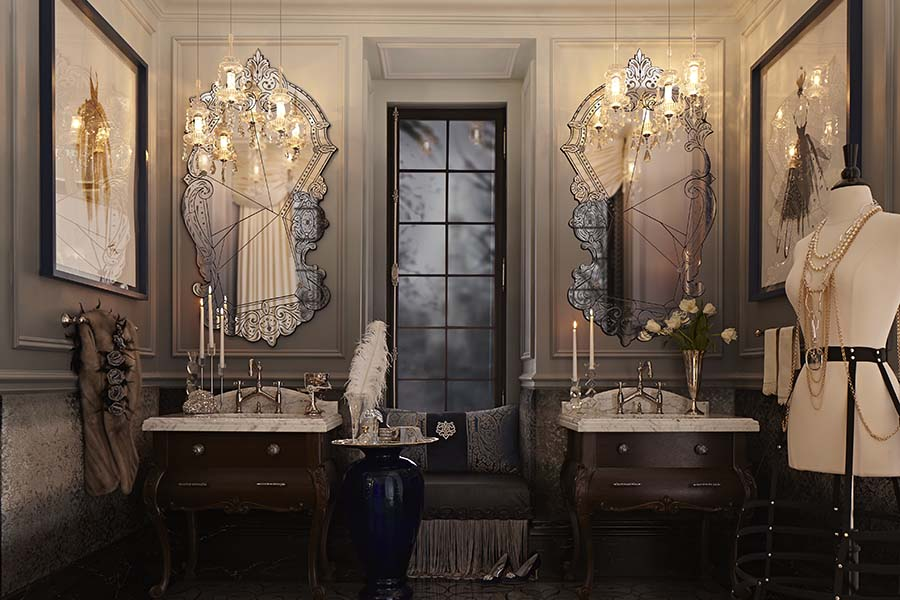 Anna karenina by dxv design panelist regina sturrock for Interior designs regina