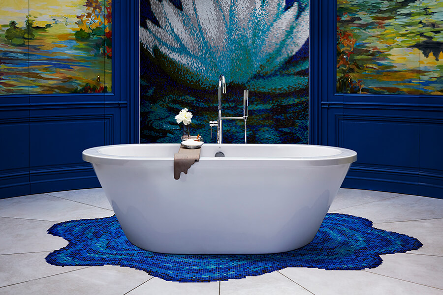 DXV Lowell Freestanding Soaking Tub