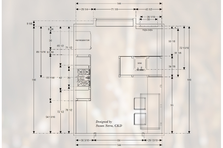 Susan Serra - Floor Plan
