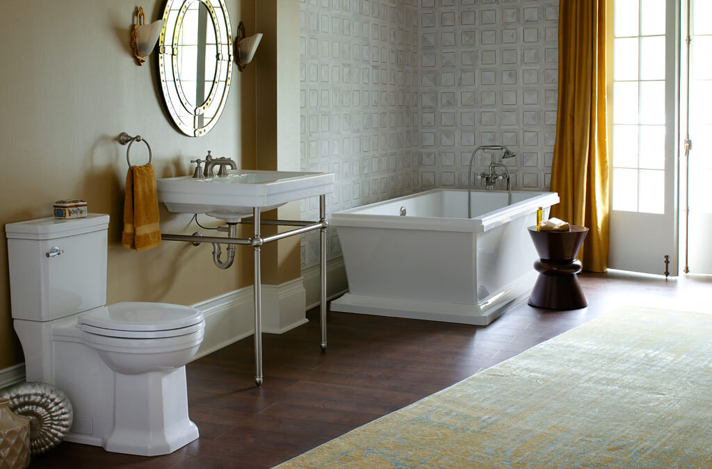 ... DXV Fitzgerald Collection Master Bathroom Suite ...