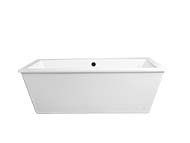 Seagram Freestanding Soaking Tub with Deck