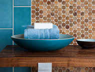 Walker Zanger - Anteak Mosaic wood tile