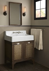 Oak Hill High Back Wood Vanity
