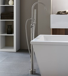DXV Contemporary Floor Mount Tub Filler