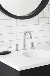 The American Standard Studio S Bath Faucet Collection received a 2018 GOOD DESIGN award for incorporating features designed to save time on installation like the exclusive Speed Connect Drain, a pre-assembled system that won't need adjusting now or years down the road.