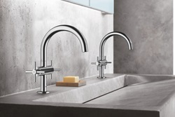 The GOOD DESIGN award-winning products from GROHE include the updated Atrio Bath Faucet Collection, which now features a slimmer, more streamlined shape, perfect for consumers who crave a more simplistic look and feel in their bathroom.