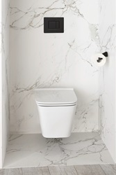 Modern Movement (1950 – 1990) - Copenhagen By Michele Alfano - DXV Modulus Wall Mounted Toilet