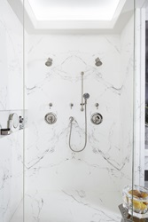 Golden Era Movement (1920 - 1950) - Geometric Abstraction by Alan Tanksley - Randall multifunction shower head and Personal Shower Set with hand shower