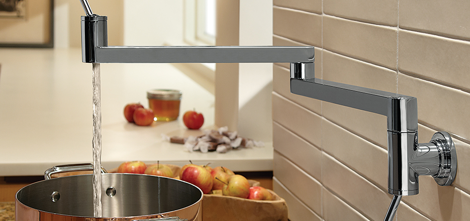 DXV Contemporary Accents Pot Filler