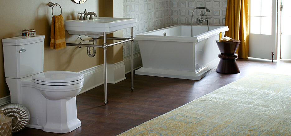 Fitzgerald Golden Era Bathroom Collection from DXV