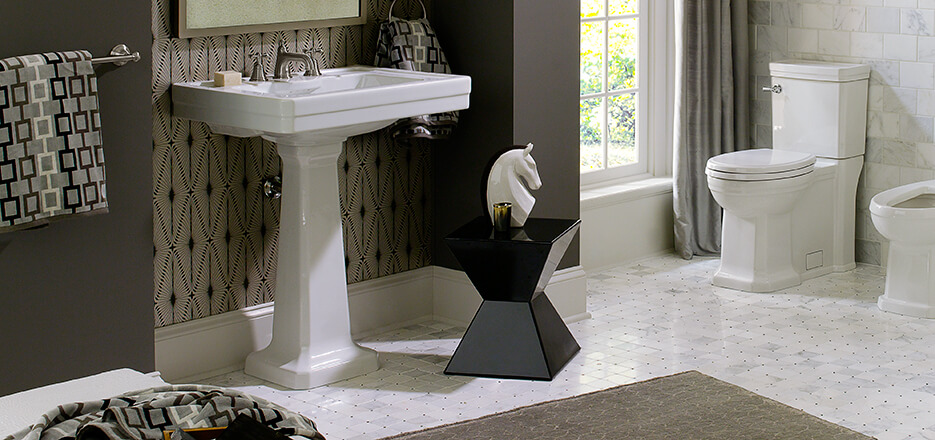DXV Fitzgerald Collection Bathroom Suite
