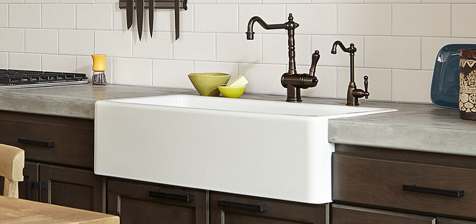 hillside classic kitchen sink collection from dxv