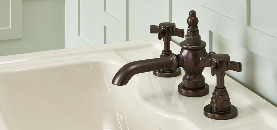 DXV Landfair Collection Widespread Bathroom Faucet