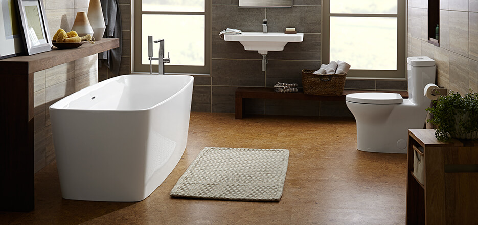 Equility Contemporary Bathroom Collection from DXV