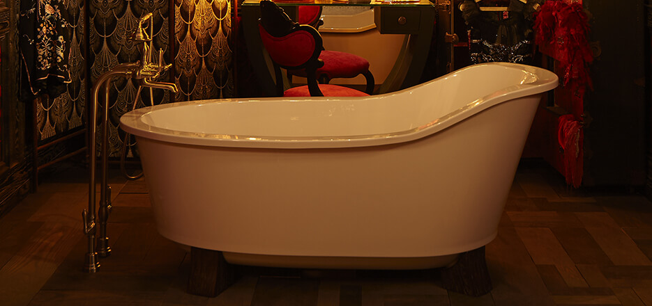 DXV Oak Hill Collection Freestanding Soaking Tub