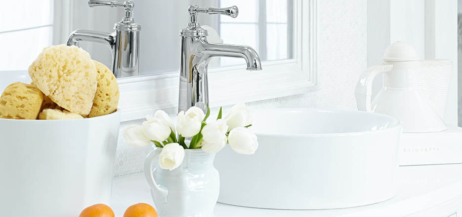 Randall Golden Era Bathroom Faucet Collection from DXV