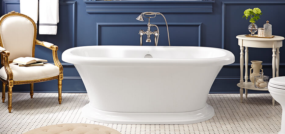 DXV St. George Collection Soaking Tub